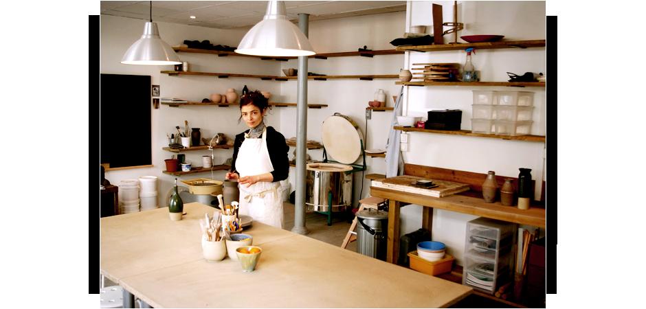 d coration cr dit photo terres de salernes poterie. Black Bedroom Furniture Sets. Home Design Ideas
